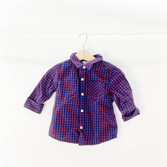 Joe Fresh - Long Sleeve Button (12-18M) - Beeja May