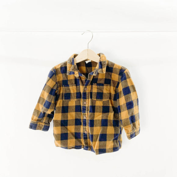 H&M  - Long Sleeve Button (12-18M) - Beeja May