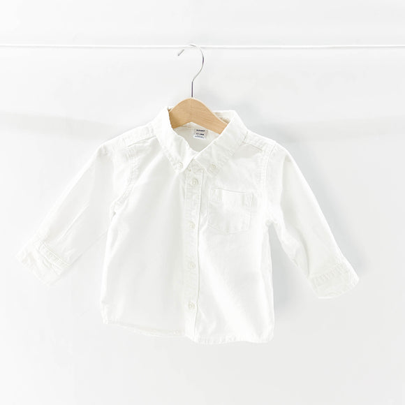 Old Navy - Long Sleeve Button (12-18M) - Beeja May