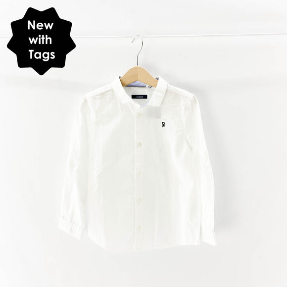 Okaidi - Long Sleeve Button (5Y) - Beeja May