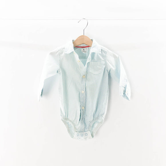 Carter's - Long Sleeve Button (9M) - Beeja May