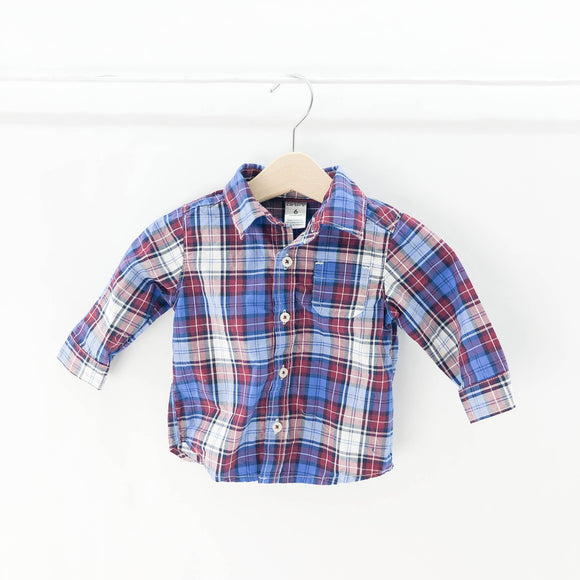 Carter's - Long Sleeve Button (6M) - Beeja May