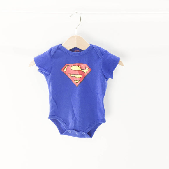 Superman - Onesie (0-3M) - Beeja May