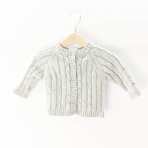 Tots Fifth Avenue - Cardigan (0-6M) - Beeja May