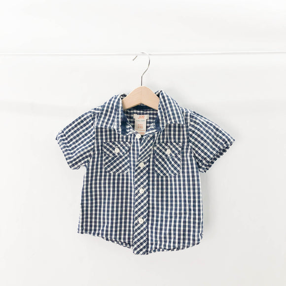 Joe Fresh - Short Sleeve Button (6-12M) - Beeja May
