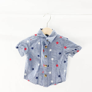 Old Navy - Short Sleeve Button (0-3M) - Beeja May