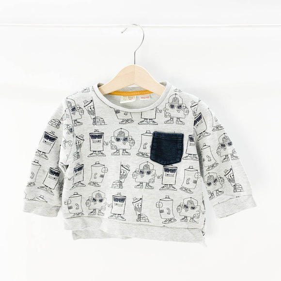 Zara - Sweatshirt (9-12M) - Beeja May