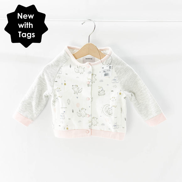 Reserved - Cardigan (6-9M) - Beeja May