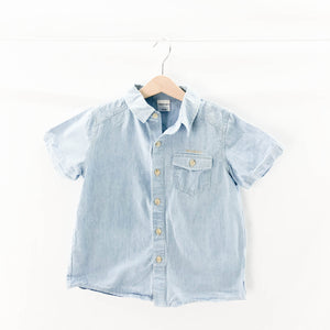 Twin Kids - Short Sleeve Button (6-7Y) - Beeja May