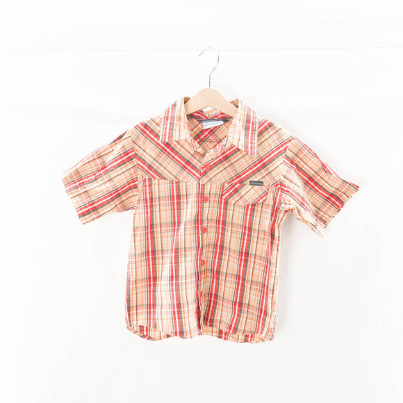 Columbia - Short Sleeve Button (5-6Y) - Beeja May