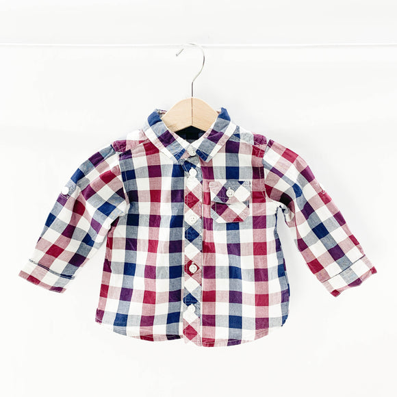 Old Navy - Long Sleeve Button (6-12M) - Beeja May