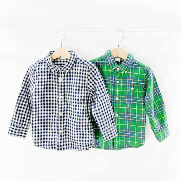 Gap - Long Sleeve Button (3Y) - Beeja May
