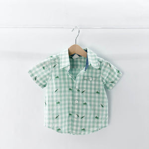 Gap - Short Sleeve Button (3-6M) - Beeja May