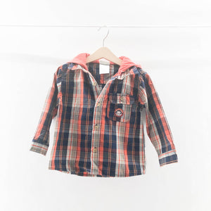 Little Rebels - Long Sleeve Button (24M) - Beeja May