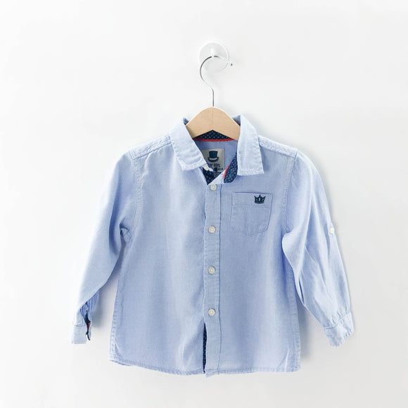Baby Boys - Long Sleeve Button (12-18M) - Beeja May