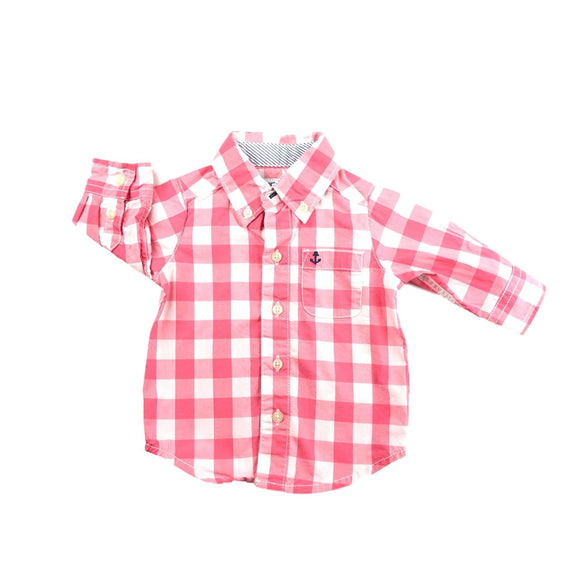 Carter's - Long Sleeve Button (3M) - Beeja May