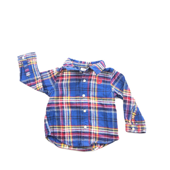 Chaps - Long Sleeve Button (6M) - Beeja May