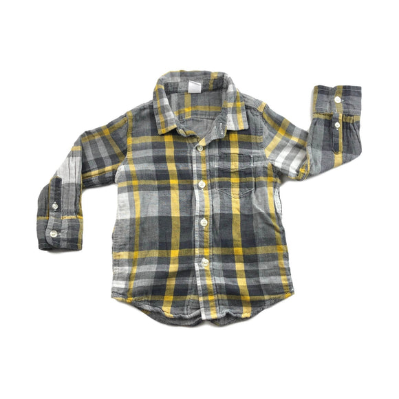 Gap - Long Sleeve Button (18-24M) - Beeja May