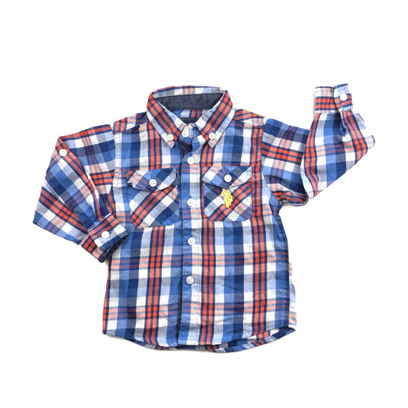 U.S. Polo Assn - Long Sleeve Button (2Y) - Beeja May