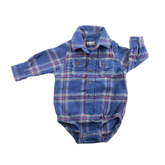OshKosh B'gosh - Long Sleeve Button (9M) - Beeja May