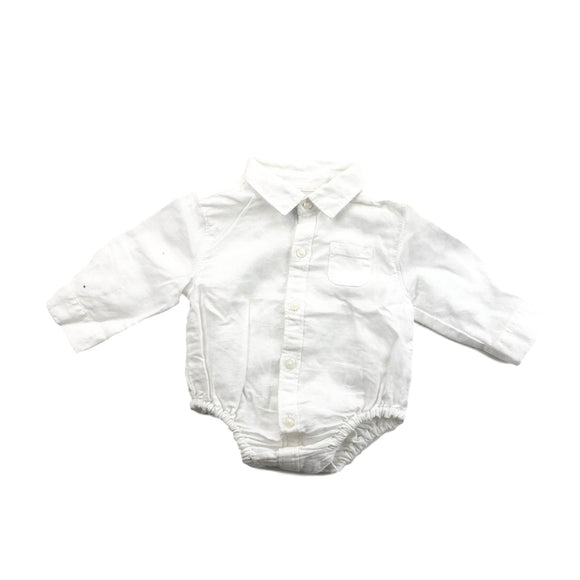 Janie and Jack - Long Sleeve Button (3-6M) - Beeja May