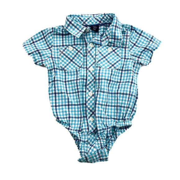 Gap - Short Sleeve Button (18-24M) - Beeja May