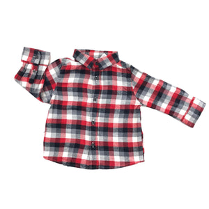 Jumping Beans - Long Sleeve Button (12M) - Beeja May