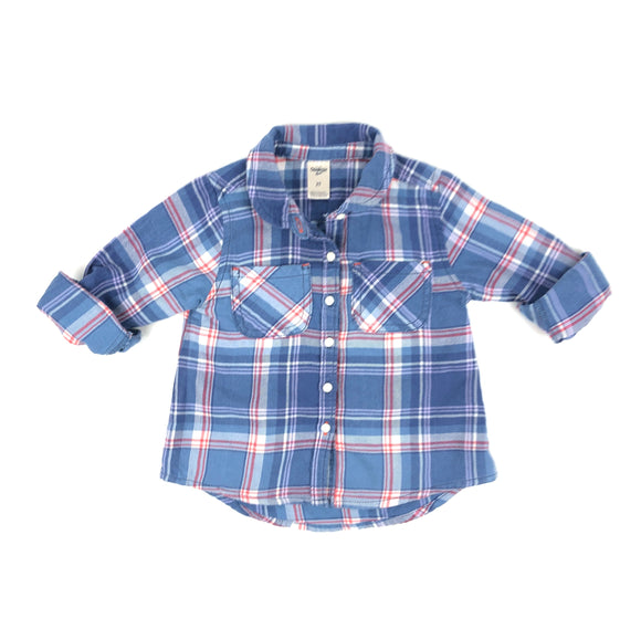 OshKosh B'gosh - Long Sleeve Button (2Y)