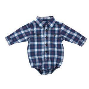 OshKosh B'gosh - Long Sleeve Button (6M)
