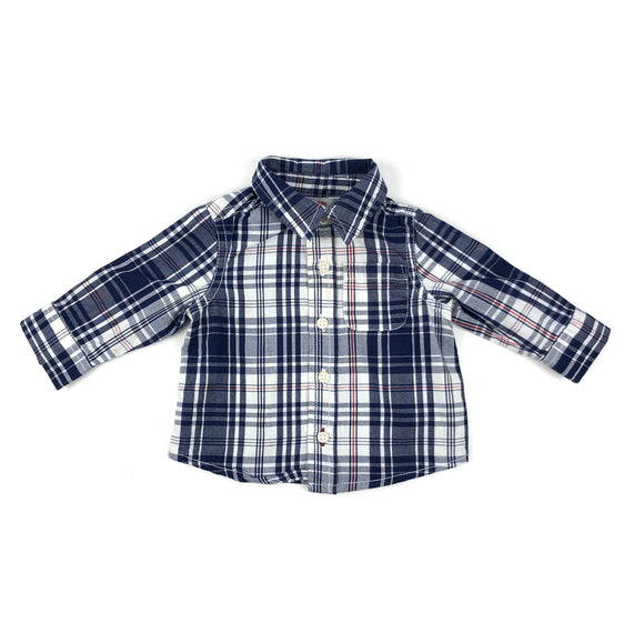 Joe Fresh - Long Sleeve Button (3-6M)