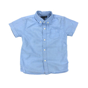 Tommy Hilfiger - Short Sleeve Button (4T)