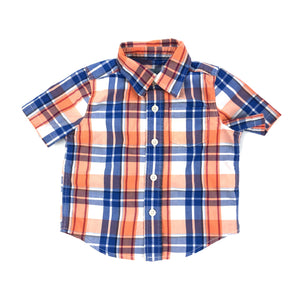 Gap - Short Sleeve Button (12-18M) - Beeja May