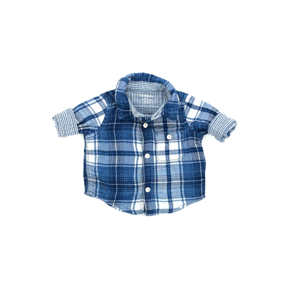 Gap - Long Sleeve Button (0-3M) - Beeja May