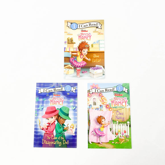 I Can Read Beginning 1 Reading - Fancy Nancy (3-pack) - (na) - Beeja May