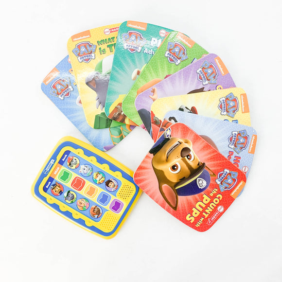 Paw Patrol - Electronic Reader and 8-Book Library - (na) - Beeja May