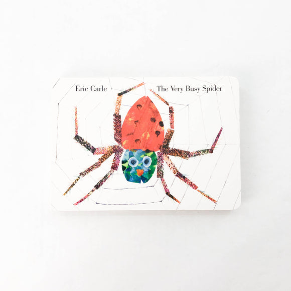 The Very Busy Spider - (Eric Carle) - Beeja May