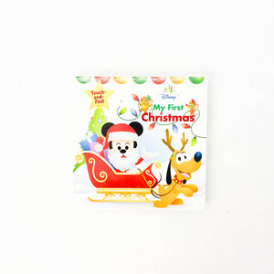 My First Christmas - (Disney Book Group) - Beeja May