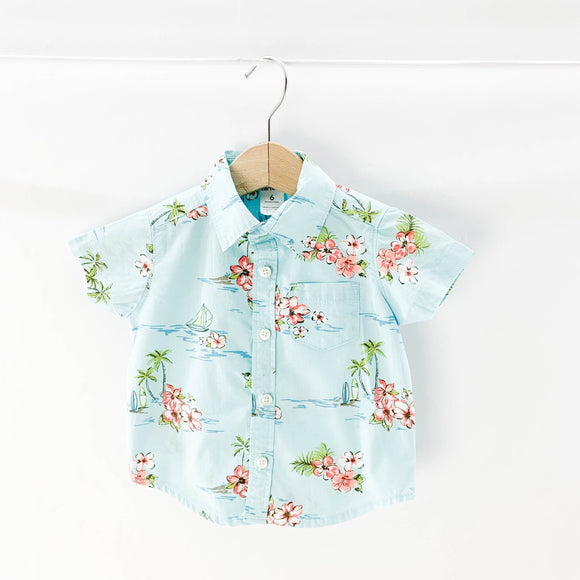 Carter's - Short Sleeve Button (6M) - Beeja May