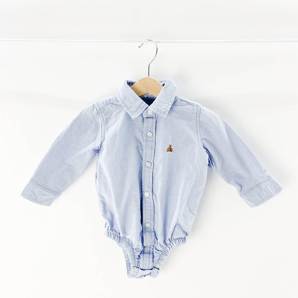 Gap - Long Sleeve Button (6-12M) - Beeja May