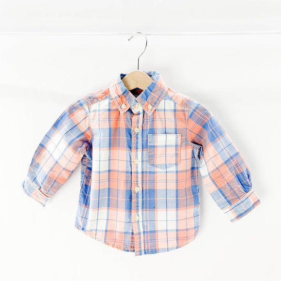 Carter's - Long Sleeve Button (12M) - Beeja May