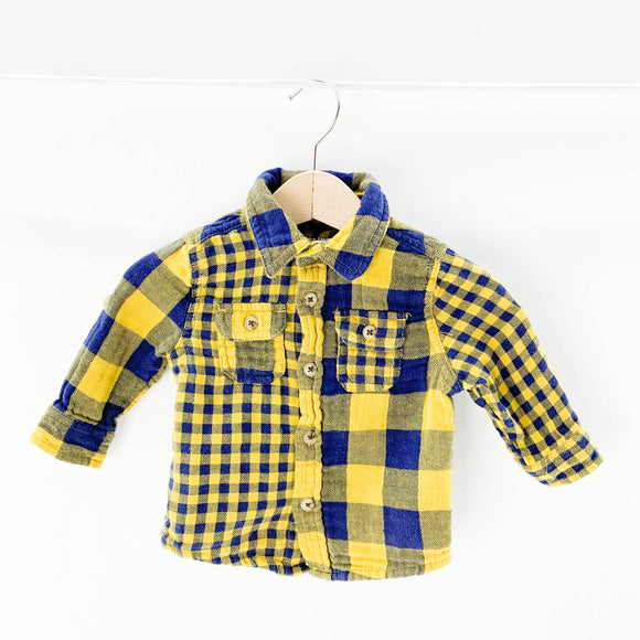 Joe Fresh - Long Sleeve Button (3-6M) - Beeja May
