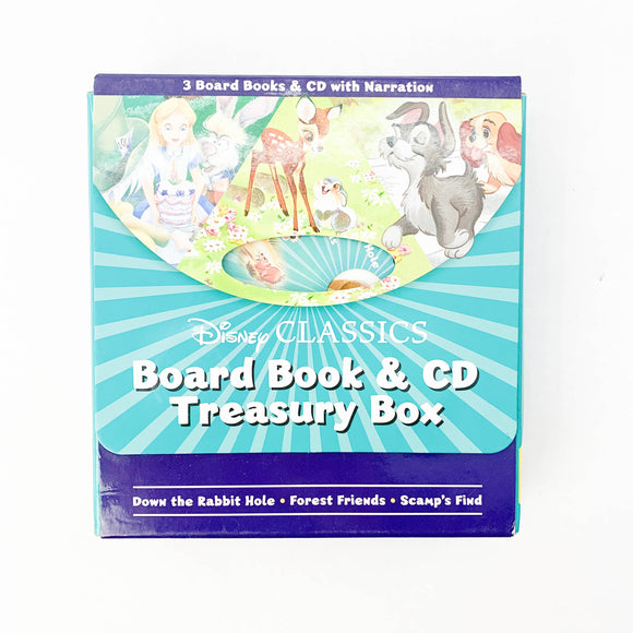 Disney Classics - Board Book & CD Treasury Box - (na) - Beeja May