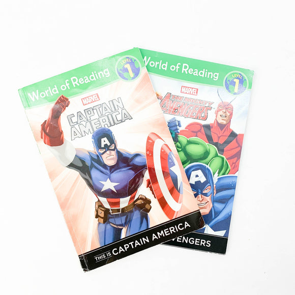 2-pack - World of Reading - Marvel
