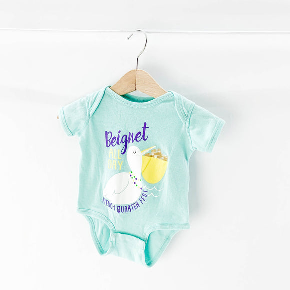 French Quarter Festival - Onesie (0-6M) - Beeja May