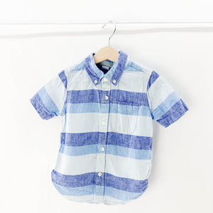 Gap - Short Sleeve Button (3Y) - Beeja May