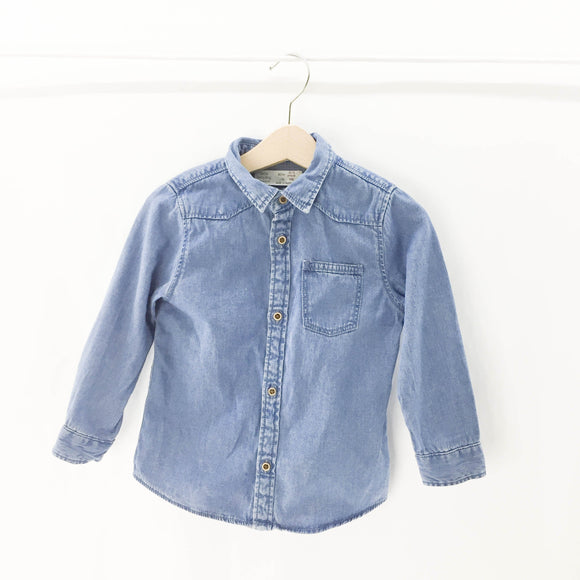 Zara - Long Sleeve Button (2Y) - Beeja May