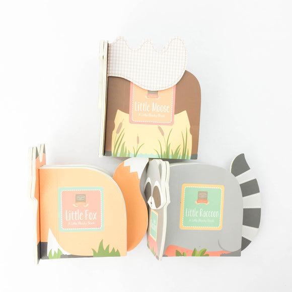 3-pack - My First Steps: Little Fox, Little Raccoon, Little Moose  - (Heather Brown/Kristen Nicholas) - Beeja May