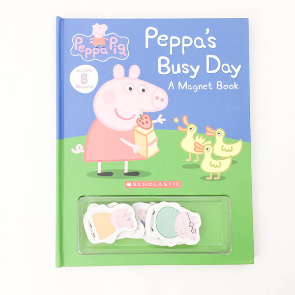 Peppa's busy Day Magnet Book - (na) - Beeja May