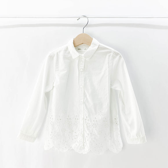 Zara - Long Sleeve Button (6Y) - Beeja May