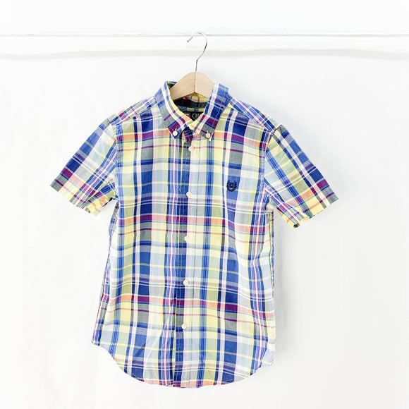 Chaps - Short Sleeve Button (7Y) - Beeja May